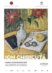 afis expo ''Comori de arta din Colectia Ion Chiricuta''