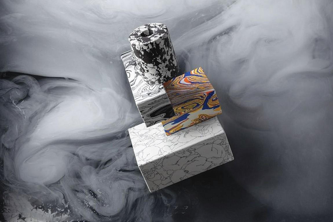 Swirl, noul material inventat de Tom Dixon